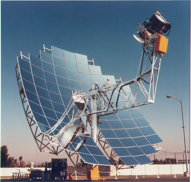 Parabolic Dish Concentrating Solar Power
